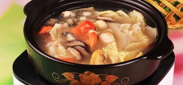 扇贝牡蛎火锅