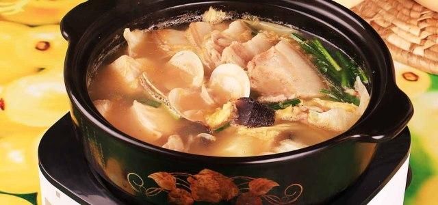 朝鲜酸菜白膘火锅