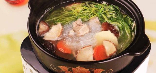 浓香猪肉火锅
