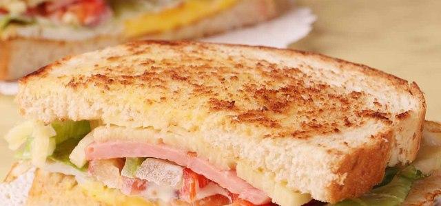 多味三明治