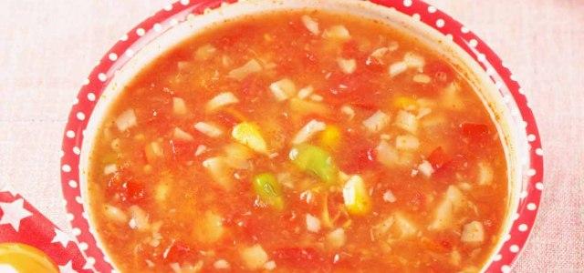 好喝又好看的番茄汤
