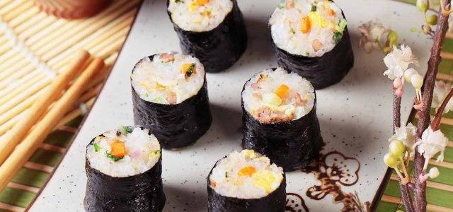 胡萝卜青菜饭卷
