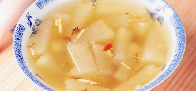 白茅根冬瓜汤
