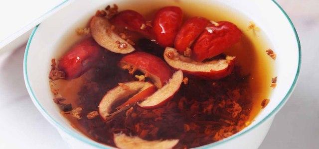 红枣桂花红茶