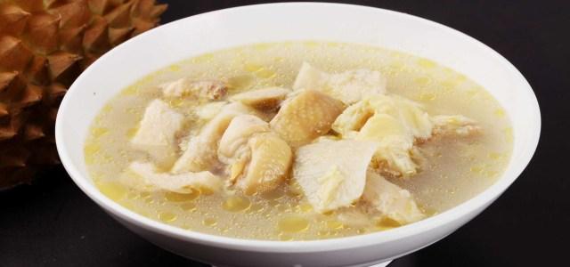特色鸡汤吃法