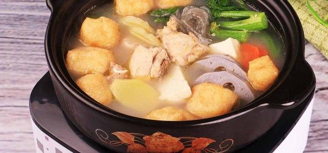 鸡肉豆腐火锅