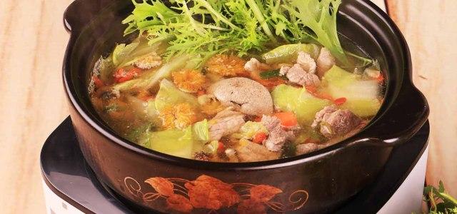 菊杞猪肉火锅