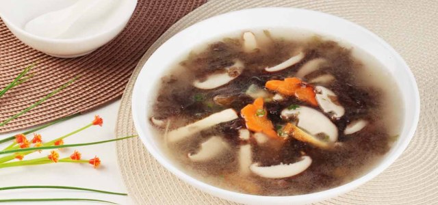 三丝紫菜汤