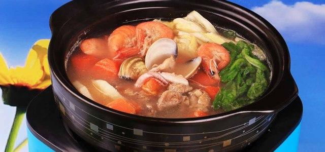海鲜杂烩锅