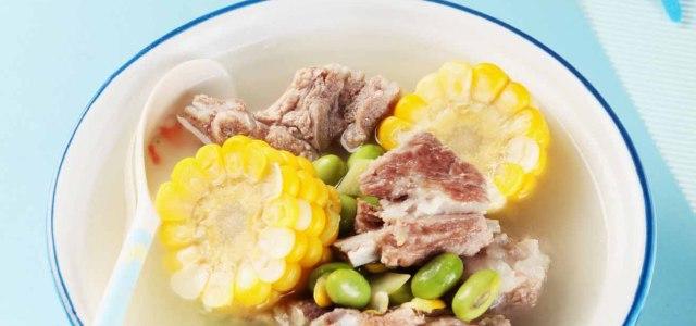 青豆排骨汤