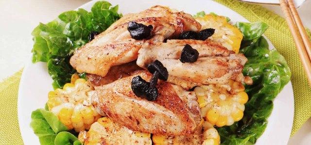 黑椒蒜香煎鸡翅
