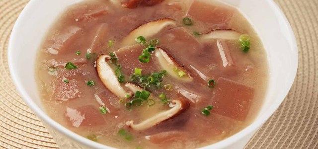 香菇魔芋汤