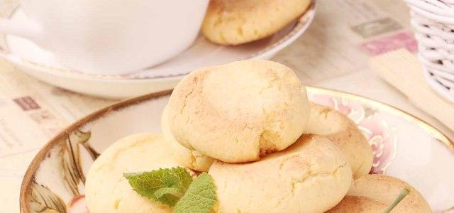 酥松焦脆小饼干
