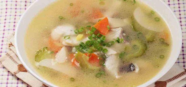 苦瓜鱼片汤
