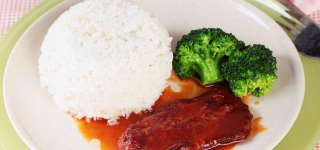 西式快餐,中式呈现