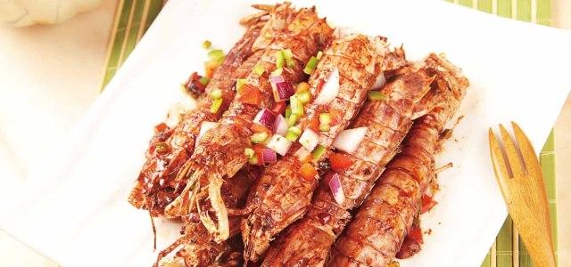 轻松即享印度风味虾