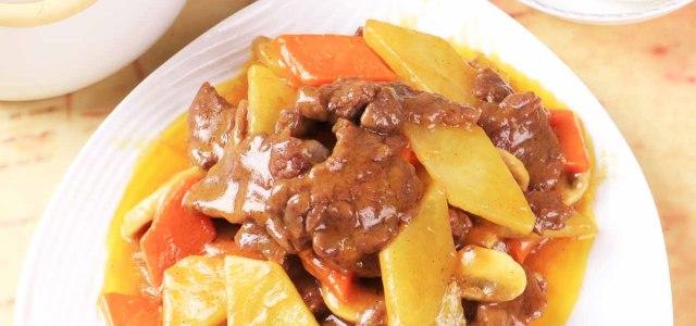 牛肉蔬菜咖喱
