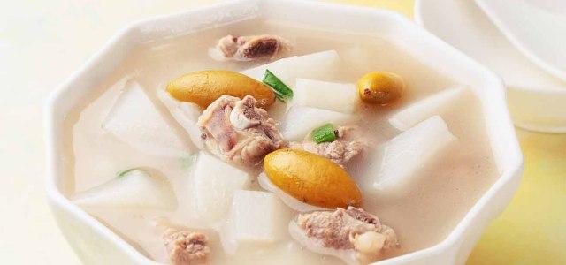 橄榄白萝卜排骨汤