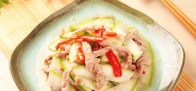 肉香小炒葫芦瓜