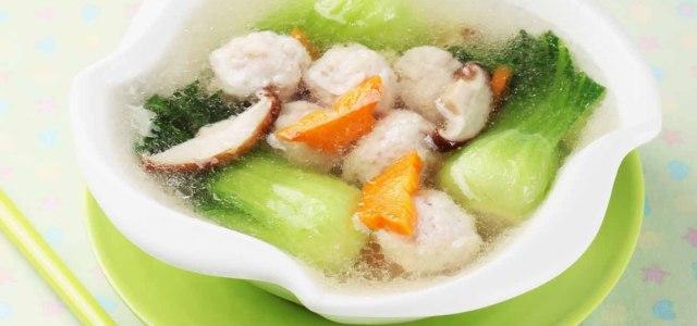 鱼丸的Q与鲜蔬菜的鲜