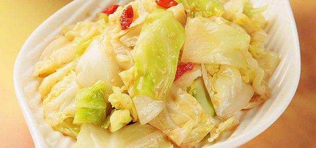 干锅包菜简易版