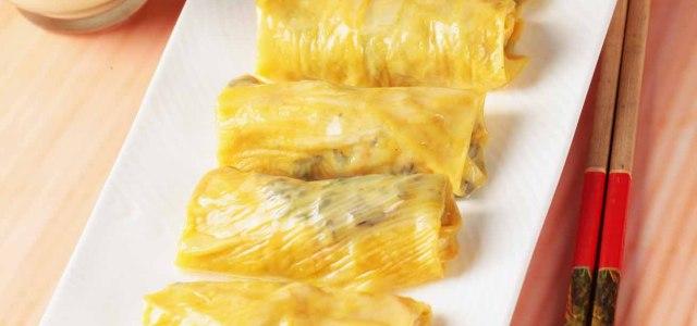 腐皮菠菜卷