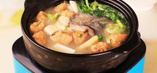 云南杂菜火锅