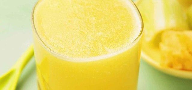 莴笋菠萝蜂蜜汁