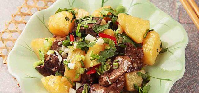 鹅肝炖土豆