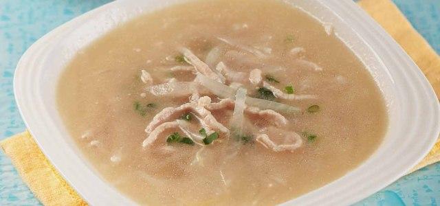 甘甜清香的养生汤