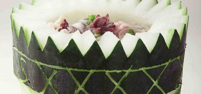 冬瓜的一种精致吃法