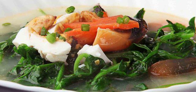 经典素菜汤
