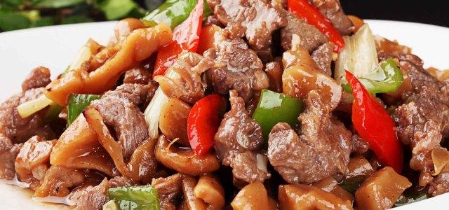 萝卜干炒羊肉