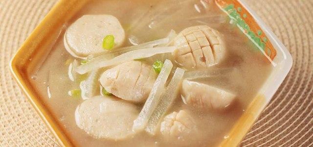 萝卜鱼丸汤