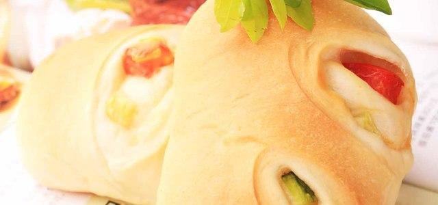 天然酵母鲜蔬面包