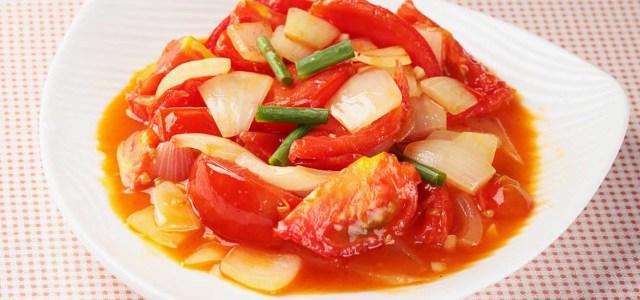 红红火火的一道菜