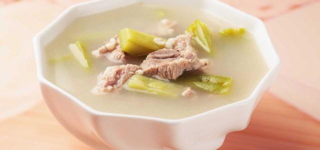苦瓜薏米排骨汤