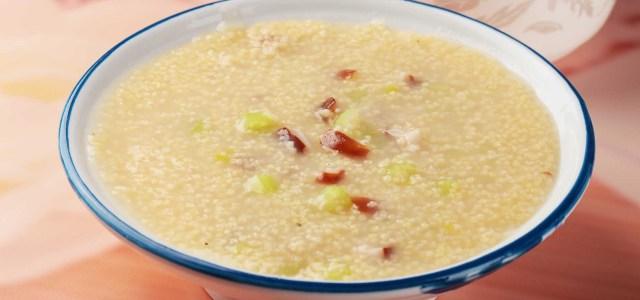 香菇芹菜小米粥