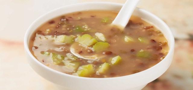 苦瓜绿豆汤