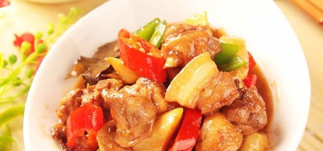 蔬菜荤食交替的美味