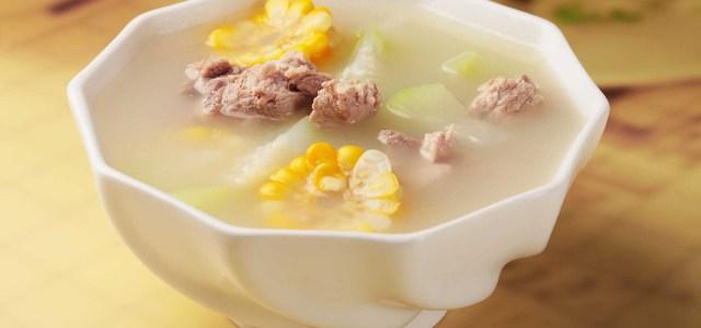 葫芦瓜玉米排骨汤