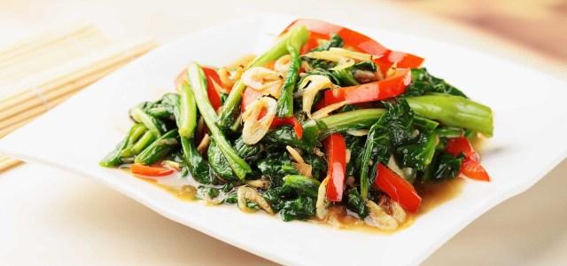 虾米家常炒菜