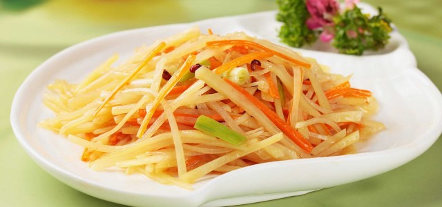 醋熘土豆丝