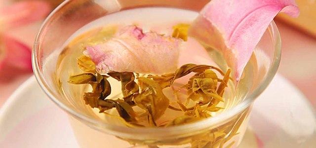花与茶的邂逅