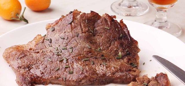 烤黑椒西冷牛排