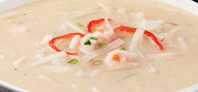 虾仁萝卜丝汤