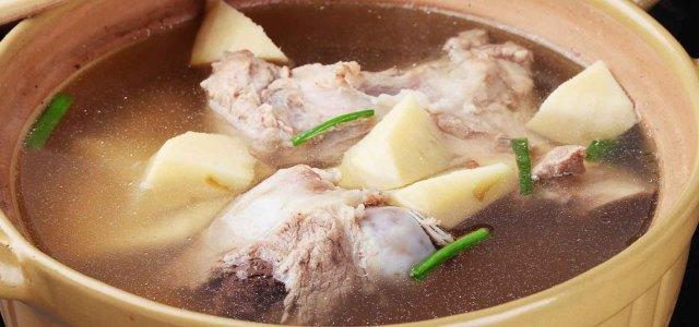 冬笋筒骨汤