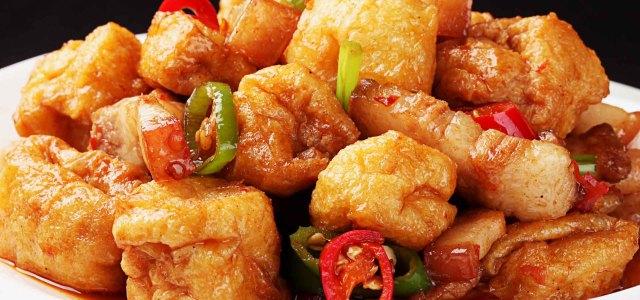 油豆腐小炒肉