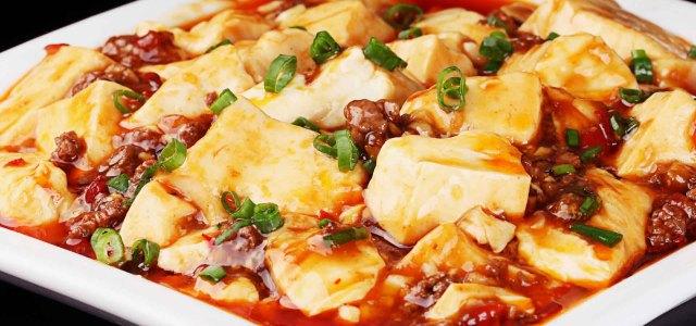 麻婆牛肉豆腐