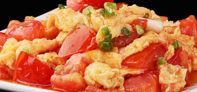 开胃西红柿炒蛋